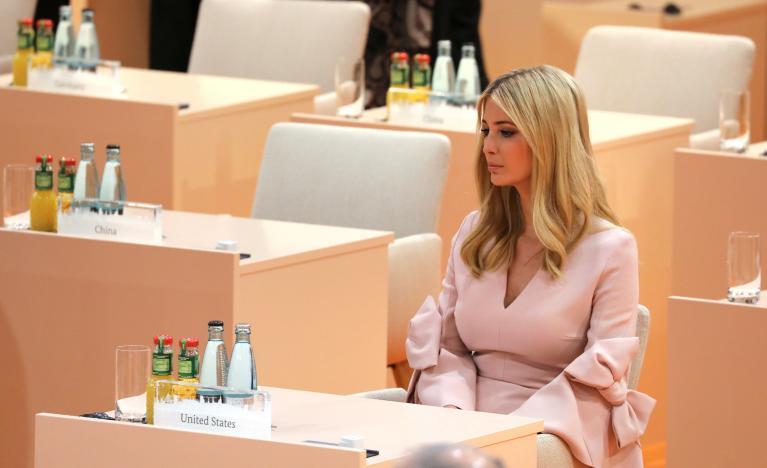 Sự xuất hiện của Ivanka Trump tại hội nghị thượng đỉnh G20