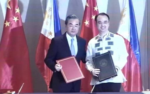 Trung Cộng ủng hộ hợp tác khai thác năng lượng trên Biển Đông với Philippines