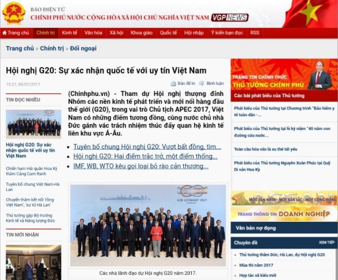 Lừa dối Bộ Chính trị và người dân – thủ đoạn truyền thông của ông Nguyễn Xuân Phúc tại G20 (Trung Khoa)