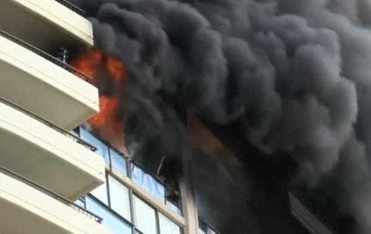 Cháy tòa nhà cao tầng ở Honolulu, 3 chết, 5 bị thương