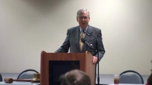 Thượng Nghị Sĩ Mitch Mcconnell tiếp tục làm việc để hủy bỏ Obamacare