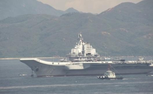 Hàng không mẫu hạm Trung Cộng tiến vào vùng nhận dạng phòng không Đài Loan