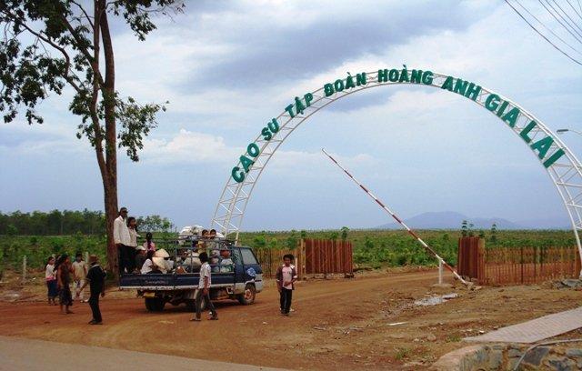 Công ty Hoàng Anh Gia Lai phải phục hồi môi trường cho 11 làng Cambodia