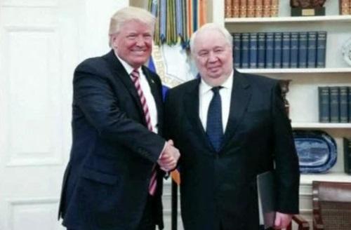 Cựu đại sứ Nga Kislyak xác nhận có thảo luận về chiến dịch tranh cử của ông Trump với Jeff Sessions