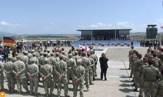 Georgia dự thao diễn quân sự do Hoa Kỳ cầm đầu trước chuyến công du của phó tổng thống Mike Pence
