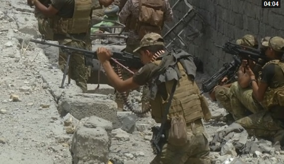 Quân đội Hoa Kỳ đảm nhận vai trò chính dập tắt sự kháng cự của ISIS để tái chiếm Mosul