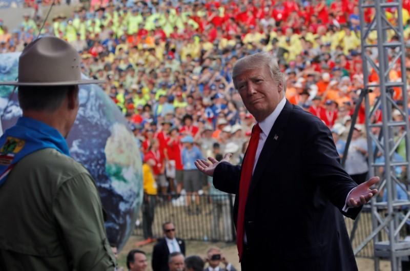 Chủ Tịch Phong Trào Hướng Đạo Hoa Kỳ xin lỗi vì bài diễn văn của tổng thống Trump tại Đại Hội Hướng Đạo Toàn Quốc