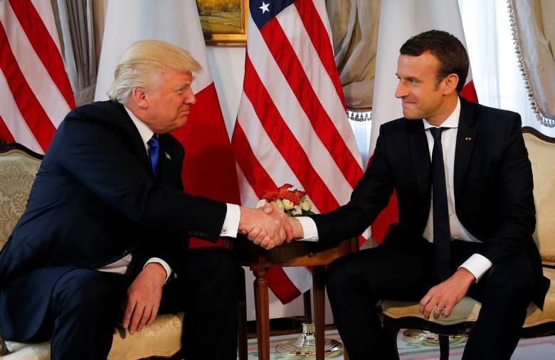 Tổng thống Trump công du Pháp