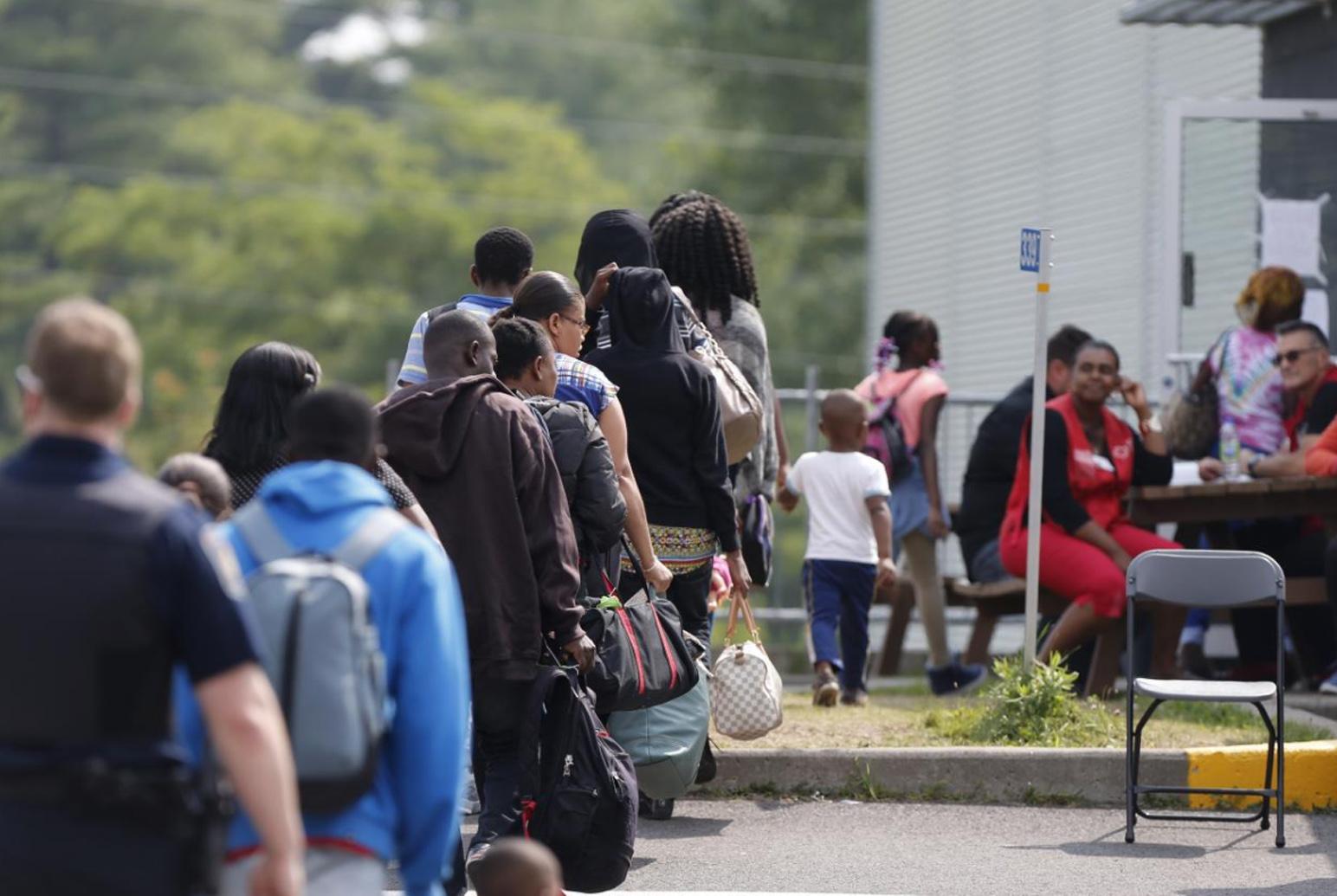 Số người xin tị nạn vào Canada từ biên giới Hoa Kỳ tăng đột biến
