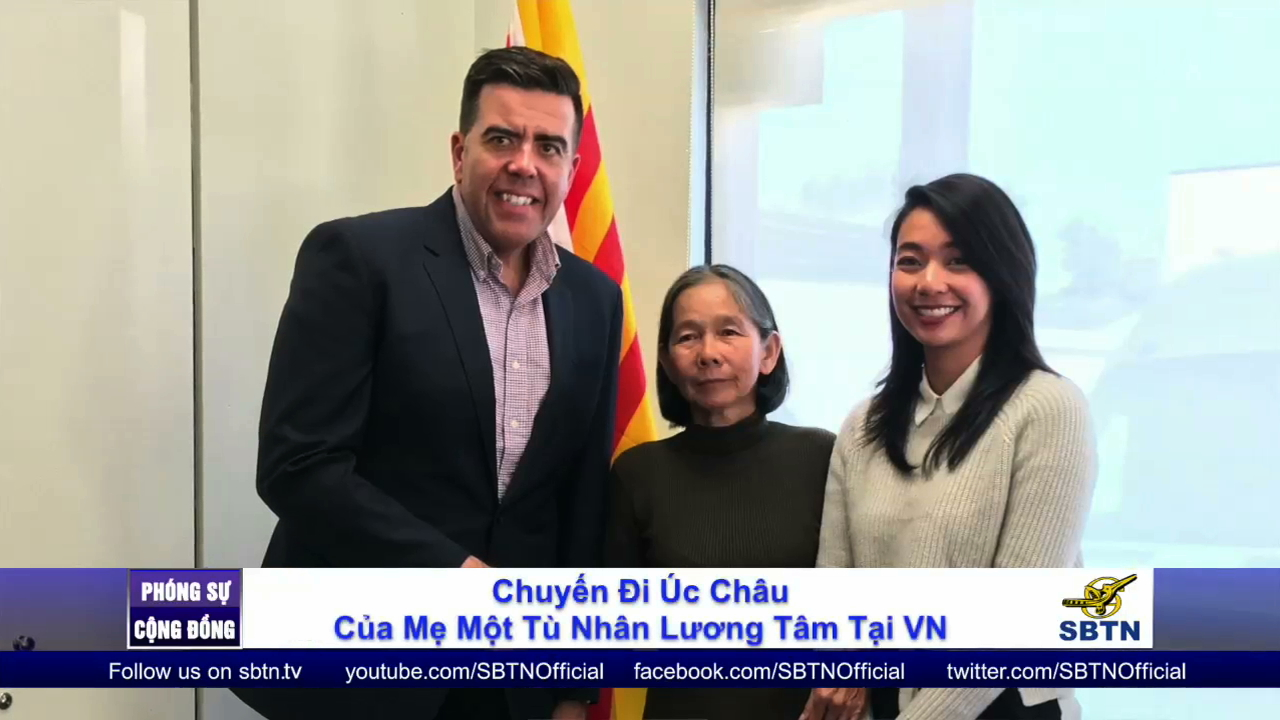 Chuyến đi Úc của mẹ TNLT Đinh Nguyên Kha
