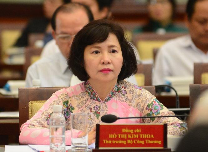 Thứ trưởng Kim Thoa bị dọa cách chức đã nộp đơn xin 'nghỉ việc'