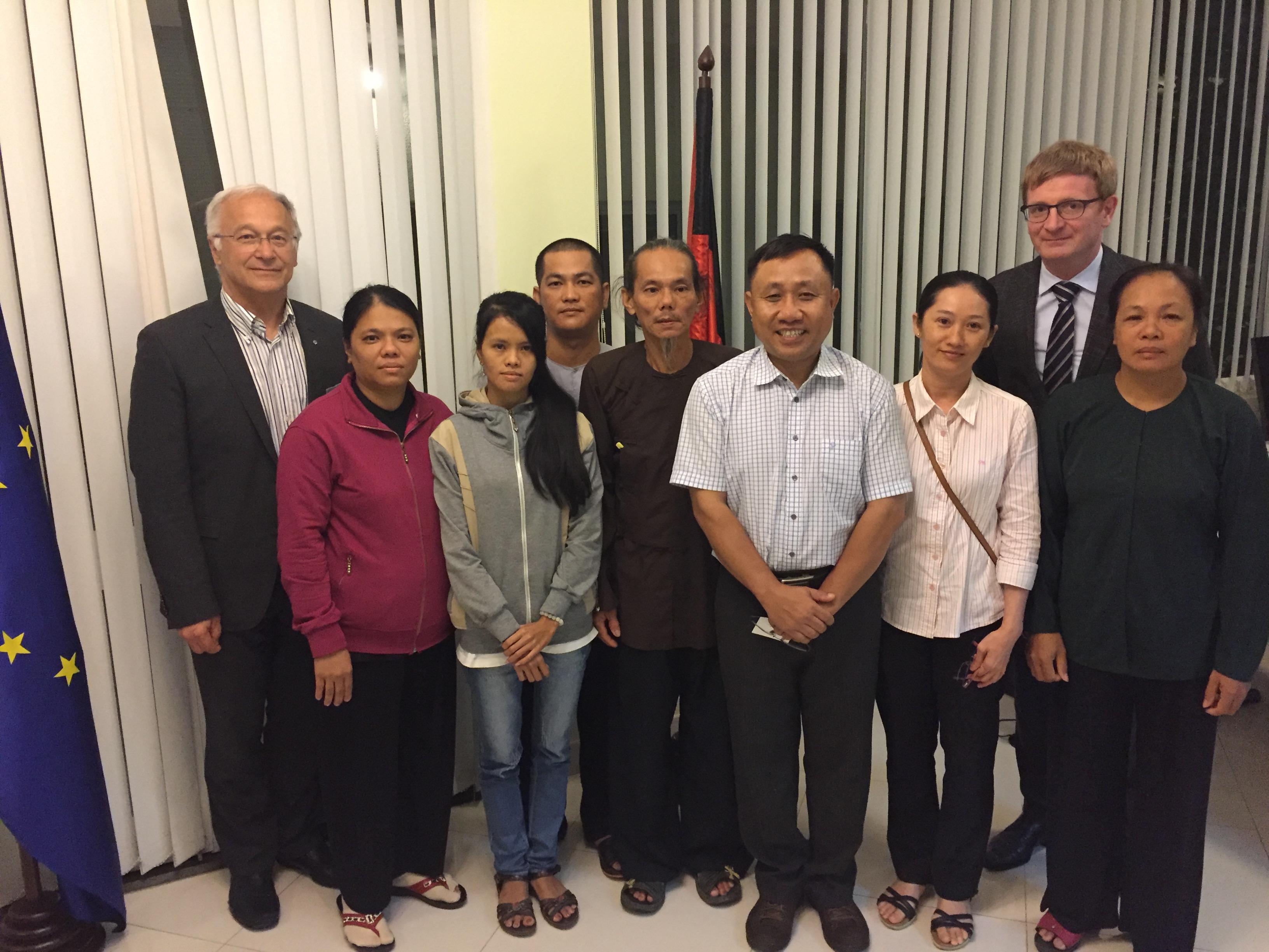 Hai dân biểu Đức kêu gọi trả tự do cho nhà hoạt động Nguyễn Bắc Truyển