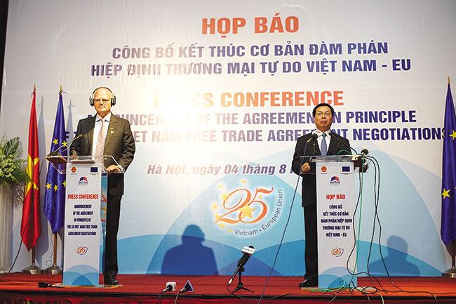 Tạp chí Forbes: vụ bắt cóc Trịnh Xuân Thanh có thể kéo đổ thương ước Liên Âu-Việt Nam