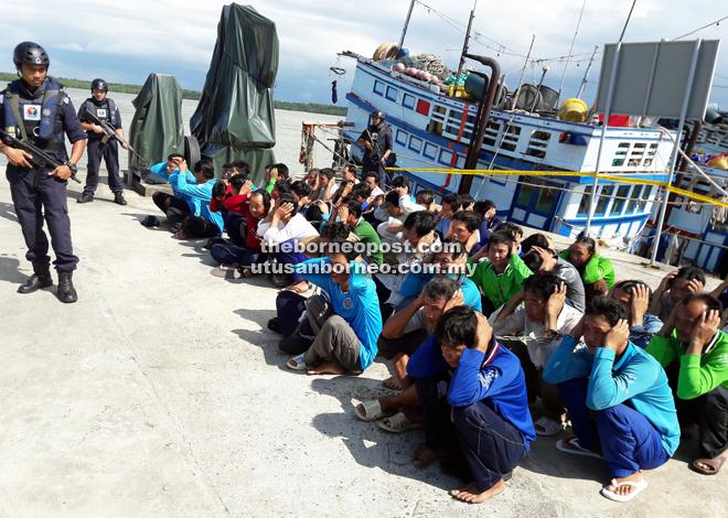 Bảy tháng đầu năm 2017, Mã Lai bắt giữ số ngư dân Việt Nam gần gấp đôi cả năm 2016