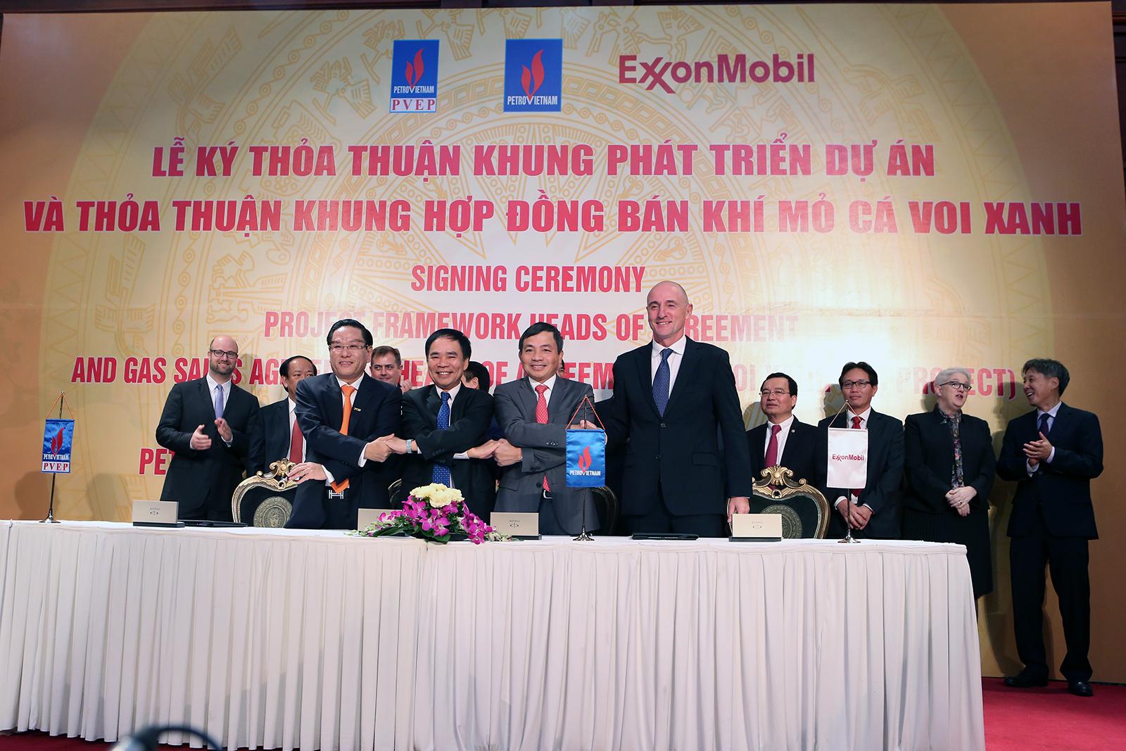 Dự án khí đốt của Exxon Mobil ở Việt Nam có thể bắt đầu trong tháng 11