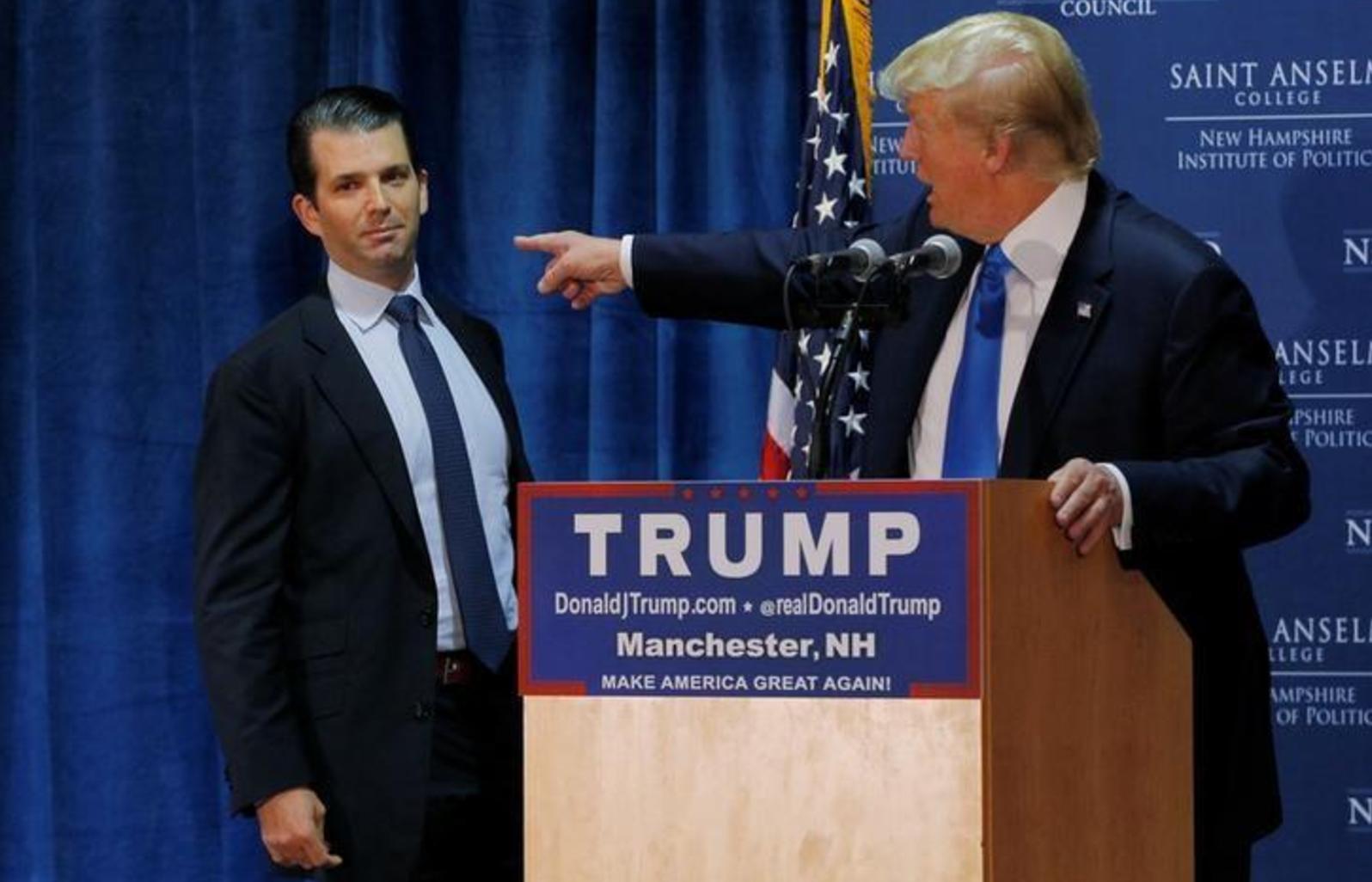 Tổng thống Trump đích thân chỉ đạo đưa tuyên bố đánh lạc hướng về cuộc gặp của Trump Junior với người Nga