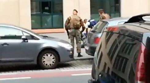 Nghi can tấn công khủng bố tại Brussels bị bắn hạ