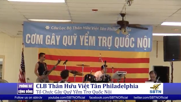 CLB thân hữu Việt Tân Philadelphia gây quỹ yểm trợ quốc nội