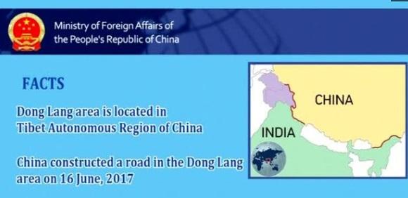 Trung Cộng khẳng định chủ quyền trong tranh chấp biên giới với Ấn Độ