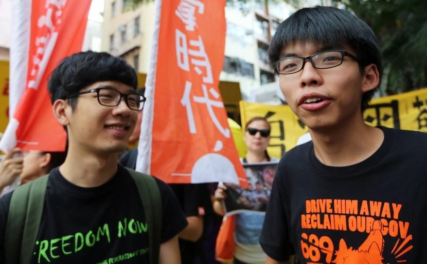 Ba nhà dân chủ trẻ Hong Kong bị kết án tù