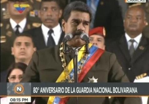 Maduro tìm cách lợi dụng lời đe dọa quân sự của tổng thống Trump, kích động dân Venezuela chống Mỹ