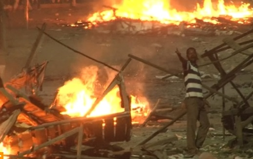 Bạo động bùng phát tại Kenya sau bầu cử tổng thống