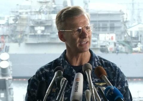 Bộ Hải Quân miễn nhiệm Phó Đô Đốc Joseph Aucoin sau vụ va chạm ở Châu Á