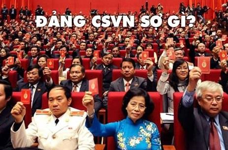 Đảng cộng sản đang sợ gì? (Pham Doan Trang)