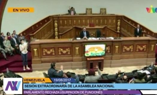 Quốc hội  Venezuela mở cuộc họp phủ nhận Hội Đồng Lập Pháp thân Maduro
