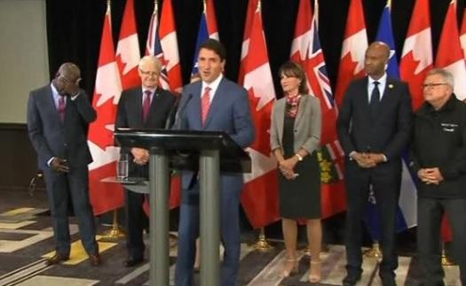 Thủ tướng Canada rút lại lời chào mời đối với người tị nạn