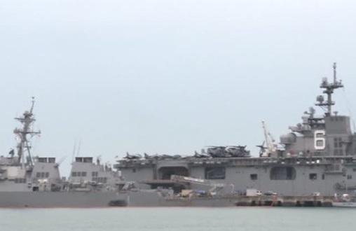 Các tai nạn tàu chiến không ảnh hưởng chiến dịch của Hoa Kỳ trên Biển Đông