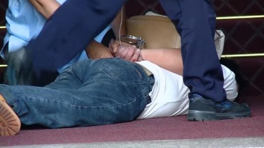 Bắt giữ người đàn ông cầm kiềm xông vào văn phòng tổng thống Đài Loan