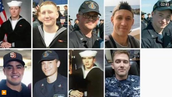 Tìm thấy thi thể 10 thủy thủ trong vụ chiến hạm USS John McCain bị nạn