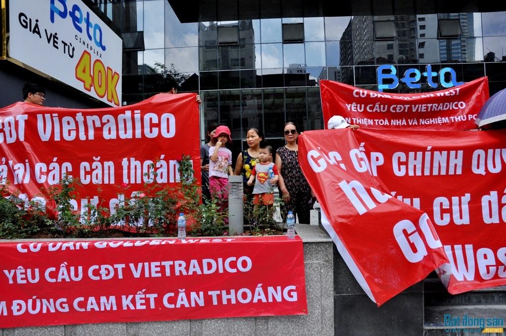Cư dân chung cư Tecco Sài Gòn tố bị chủ đầu tư doạ nạt