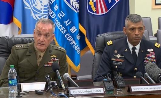 Chủ Tịch Hội Đồng Tham Mưu Trưởng Liên Quân: Mỹ sẵn sàng trước khả năng tấn công của Bắc Hàn