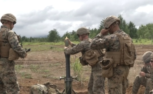 Quân đội Mỹ – Nhật diễn tập quân sự bắn đạn thật tại Hokkaido