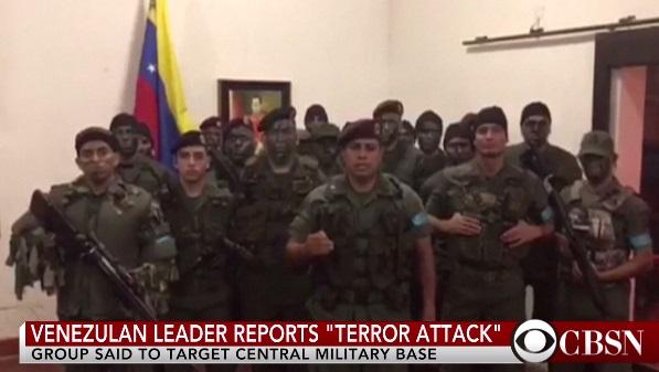Một nhóm binh sĩ quân đội Venezuela tuyên bố nổi dậy tại Valencia