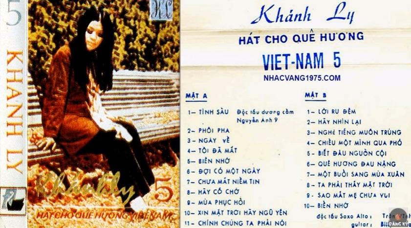 Nữ ca sĩ Khánh Ly