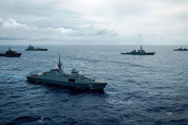 Singapore và Hoa Kỳ kết thúc cuộc tập trận hải quân đảo Guam