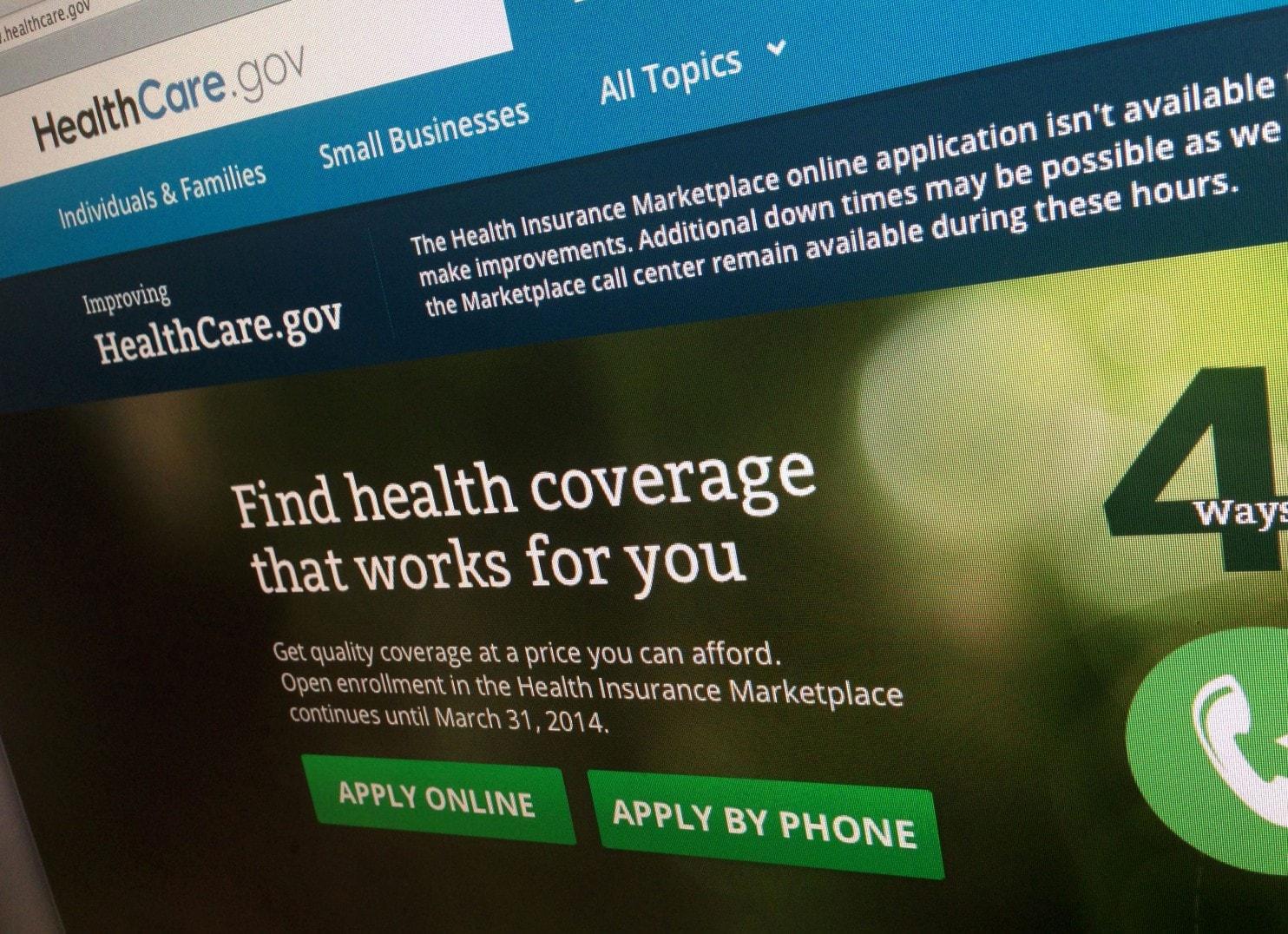 Trang web healthcare.gov sẽ đóng cửa một số ngày trong giai đoạn ghi danh vì cần bảo trì