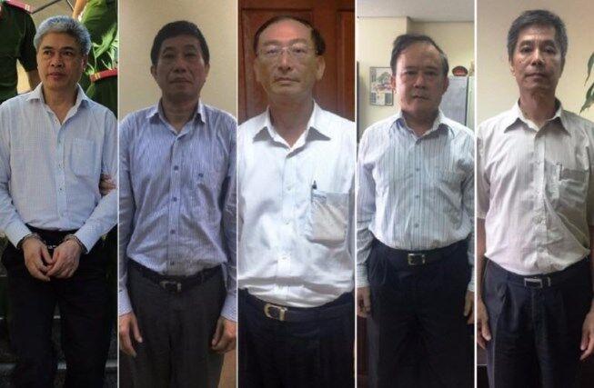 Một loạt giới chức PVN bị bắt trong vụ mất hơn 35 triệu USD vốn trong OceanBank