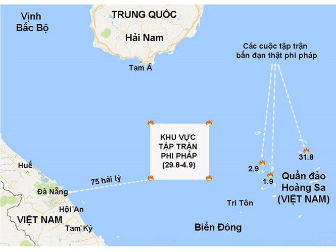 Ngư dân Việt Nam lo lắng về cuộc tập trận ngoài khơi Đà Nẵng