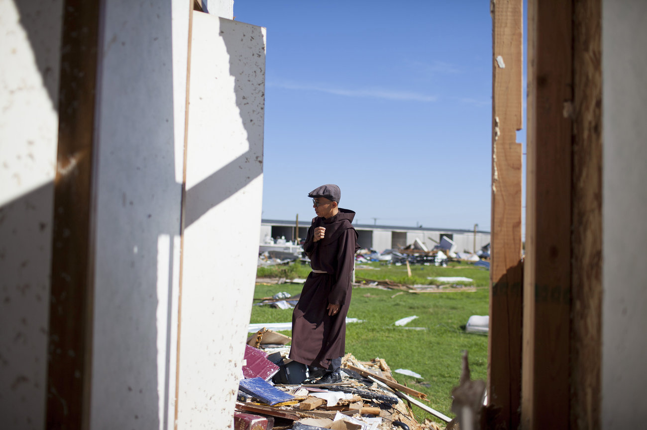 Nhà thờ của cộng đồng Việt ở Rockport, Texas bị bão Harvey phá hủy hoàn toàn