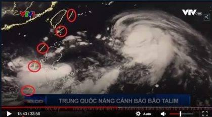 Đài truyền hình VTV bị phản đối vì dùng bản đồ đường lưỡi bò trong tin thời tiết