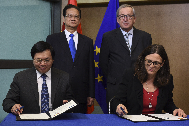 Nghị sĩ Liên Âu: hiệp định thương mại tự do với Việt Nam tùy thuộc vào nhân quyền