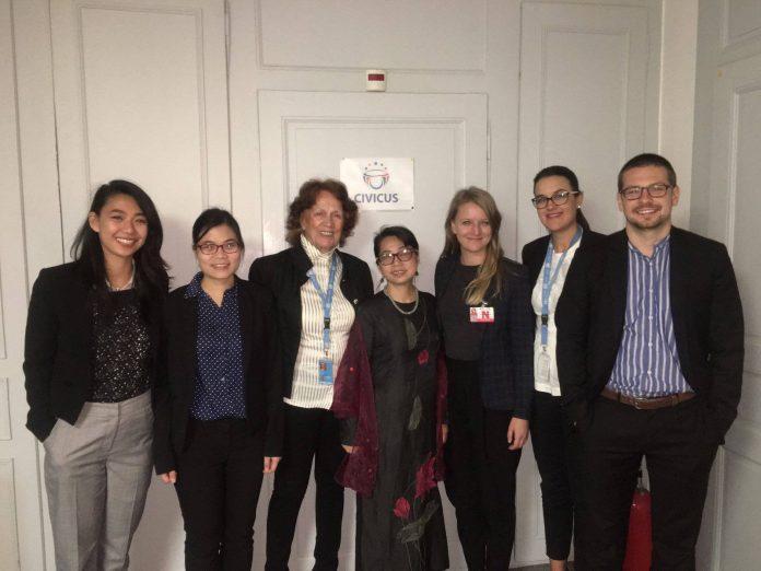 Đoàn Việt Nam vận động cho nhân quyền tại UPR 2017 tới Geneva