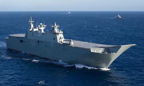 Việt Nam ủng hộ Úc điều chiến hạm đến Biển Đông tập trận