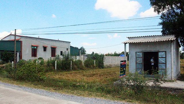 Dân hiến tặng đất để làm khu giải trí, xã phân lô bán làm nhà ở