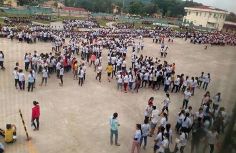 6000 ngàn công nhân may mặc ở Thanh Hoá đình công sang ngày thứ ba