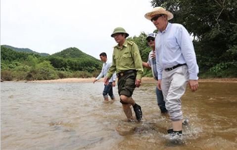 Hoa Kỳ tặng Quảng Nam 24 triệu Mỹ kim thành lập khu bảo tồn voi